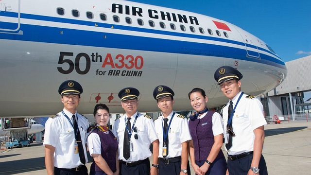 50th Airbus A330 for Air China