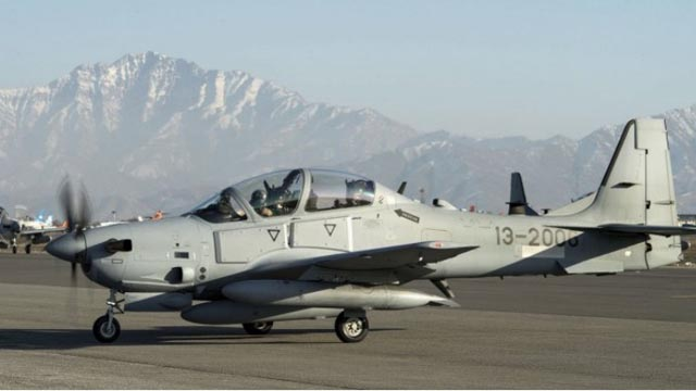 A-29 Super Tucano Afghanistan Air Force