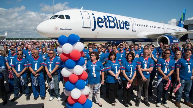 First Airbus Made in USA A321 JetBlue