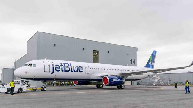 JetBlue A321 from Mobile