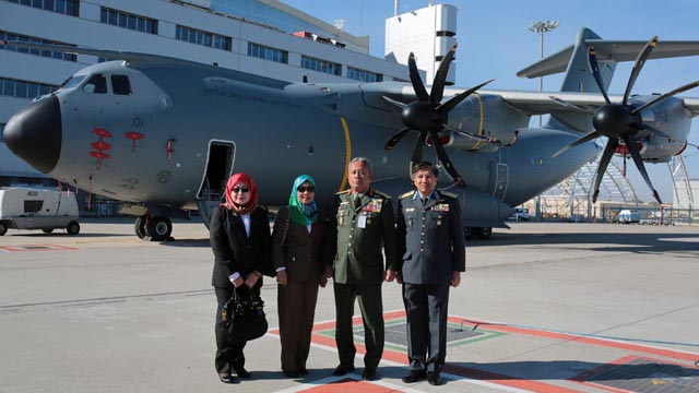 First A400M Malaysia