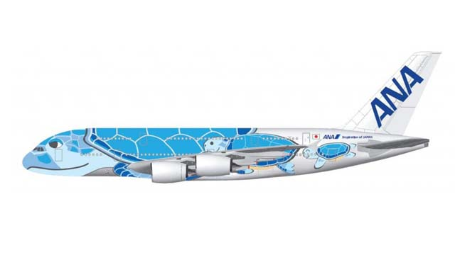 All Nippon Airways Design Airbus A380