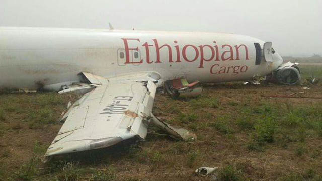 Accra Boeing 737 Runway Excursion