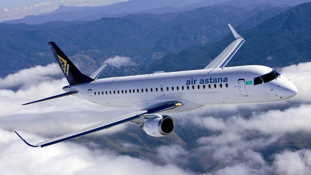 Air Astana Embraer E-Jet