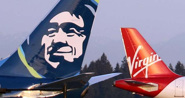Alaska Airlines mit Virgin America