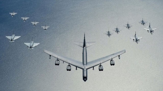 B-52H Formation Baltops 2016