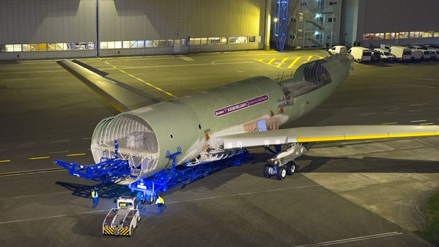 Airbus Beluga XL rolls out
