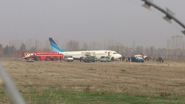 Boeing 737-300 Runway Excursion Osch