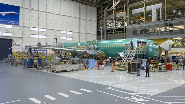 Boeing 737 MAX 8 Production