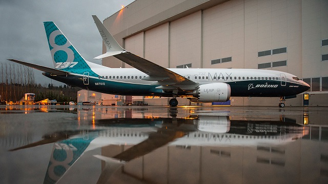Boeing 737 MAX Rollout