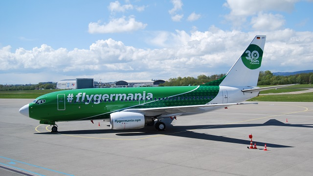 Germania Boeing 737 30 Jahre Germania