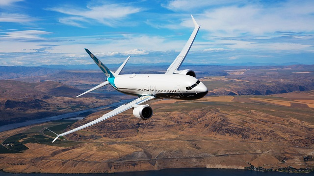 Boeing 737 MAX at Airshow