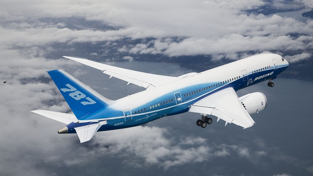 ZA001 Boeing 787 first flight