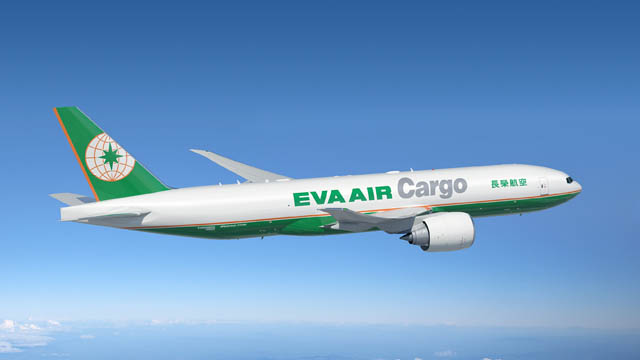 Boeing 777-200F EVA Airways