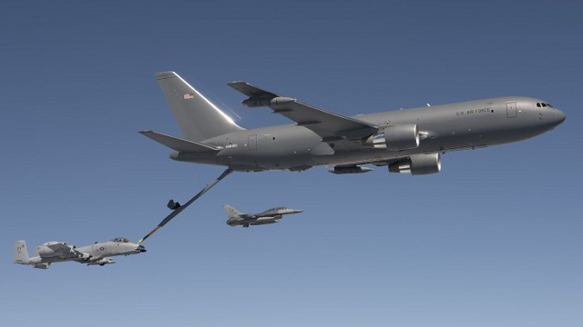 KC-46A Air-to-Air refueling of A-10