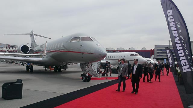Bombardier Global at EBACE