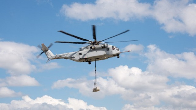 CH-53K King Stallion with external load