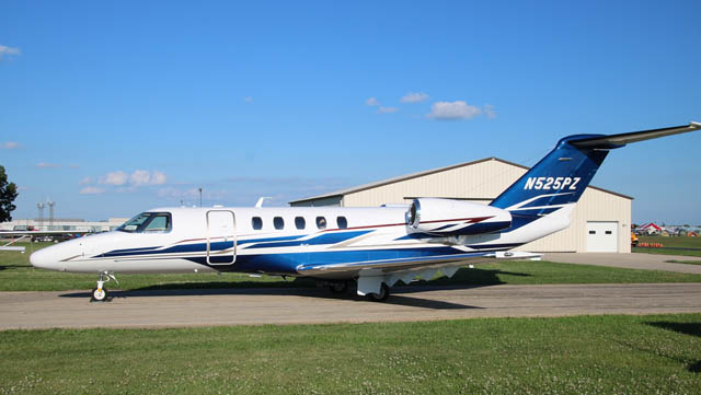 Cessna Citation CJ4 N525PZ