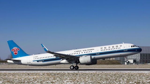 China Southern Airbus A321neo
