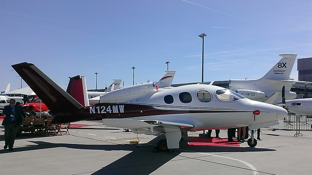 Cirrus SF50 Vision at EBACE