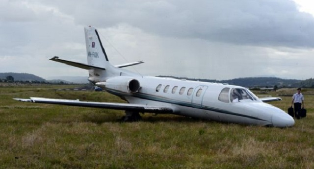 Citation Bravo Runway Excursion