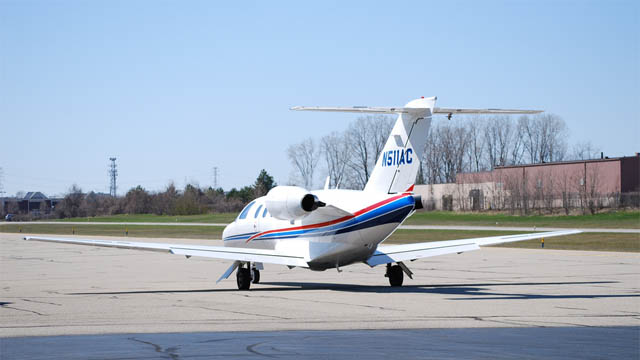 Cessna Citation IV N511AC (Foto: Applejack 25