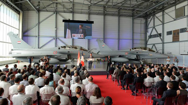 First Rafale for Egypt