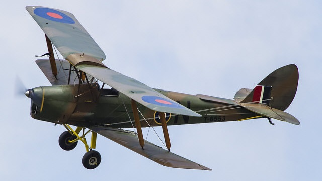 De Havilland Tiger Moth DH 82A (Foto: Martin