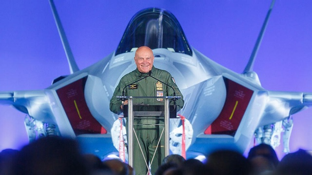 Delivery of first F-35A to Italy
