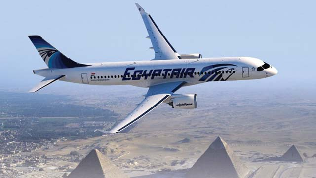 EgyptAir Bombardier CSeries CS300
