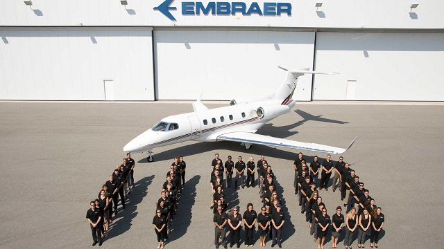 Embraer liefert 1100sten Business Jet