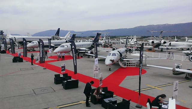 Embraer at EBACE