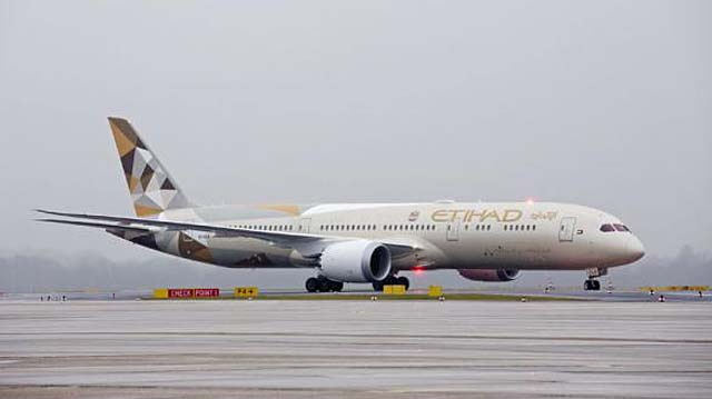 Boeing 787 Etihad Airways Düsseldorf