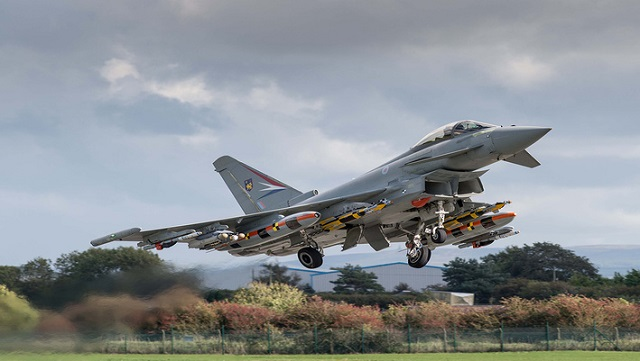 Eurofighter Typhoon mit Brimstone