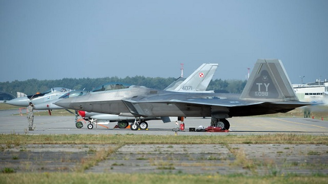 F-22 Raptor in Poland