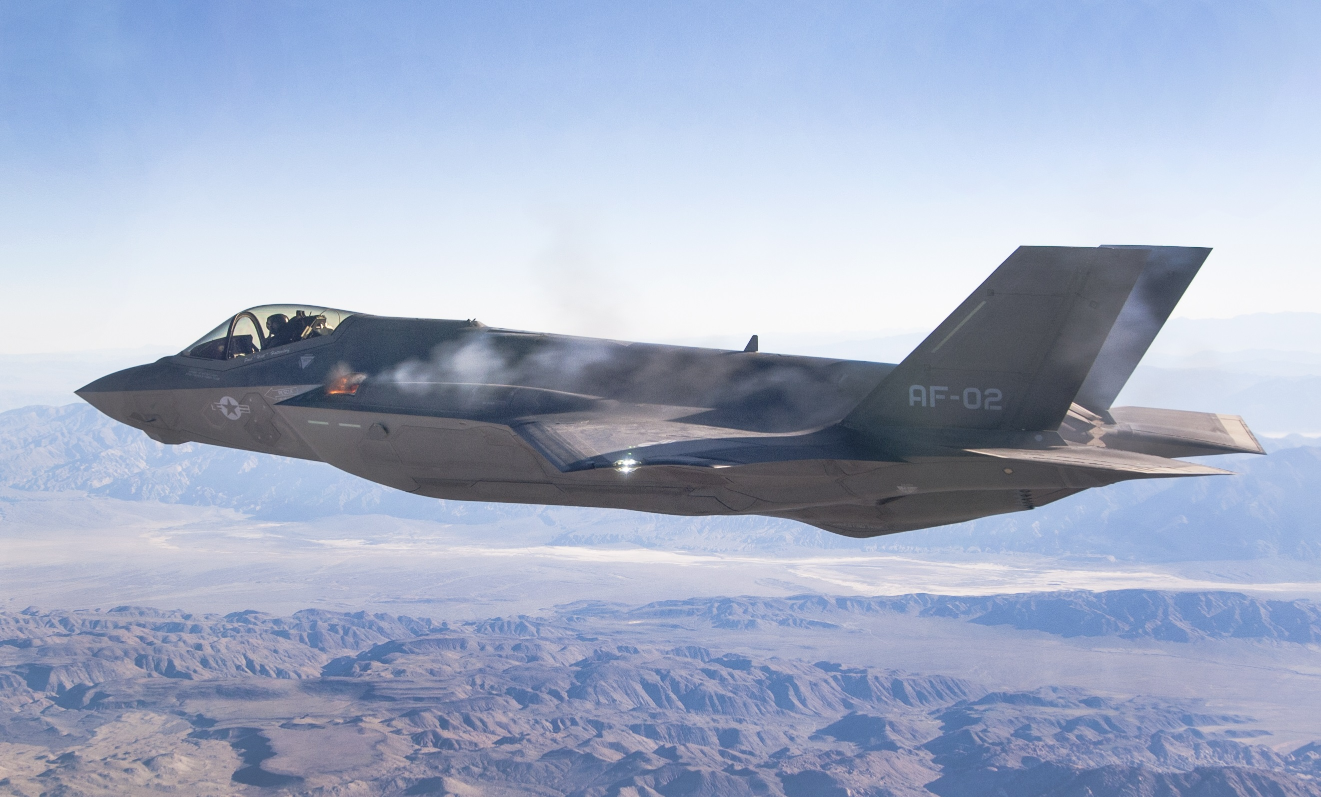 F-35A first in air gun fire