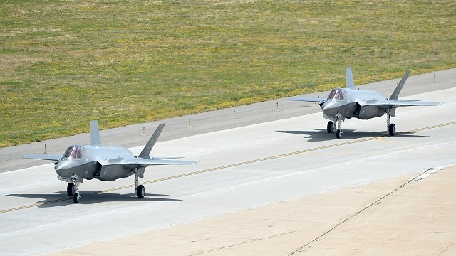 First two F-35A Lightning II Hill AFB