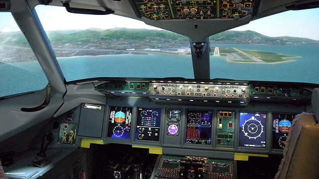 Superjet 100 Simulator