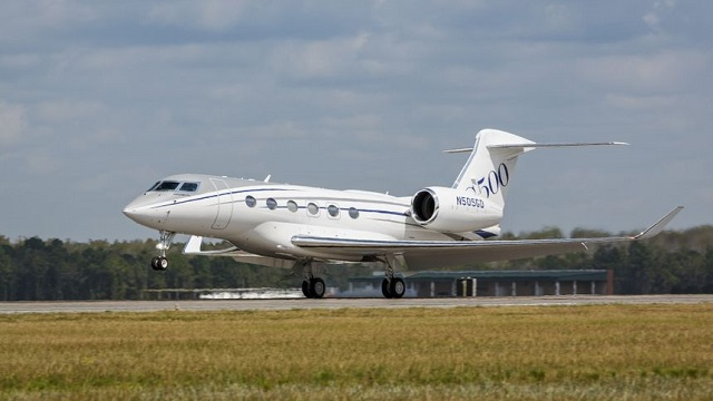 Gulfstream G500 Production Test Aircraft