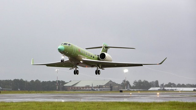 Gulfstream G600 fourth prototype first flight