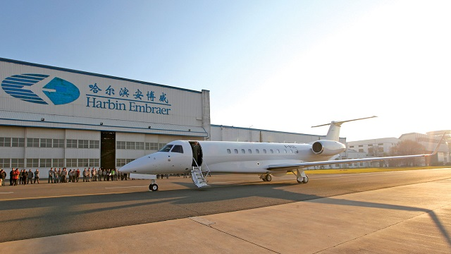 Embraer Legacy 650 Harbin Factory