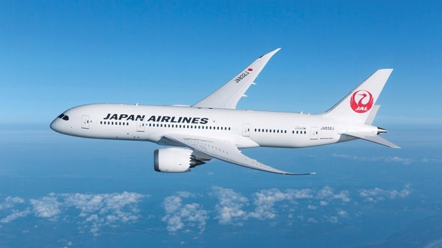 Japan Airlines JAL Boeing 787 Dreamliner
