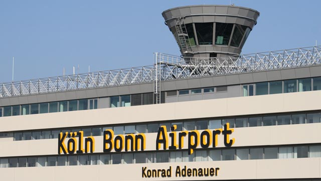 flughafen k ln bonn mit passagierrekord news reportagen videos. Black Bedroom Furniture Sets. Home Design Ideas