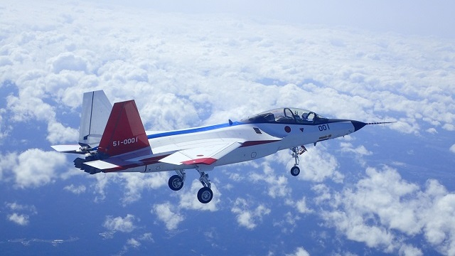 Mitsubishi X-2 first flight