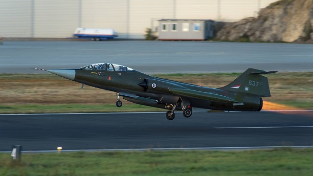 Norwegian F-104 Starfighter