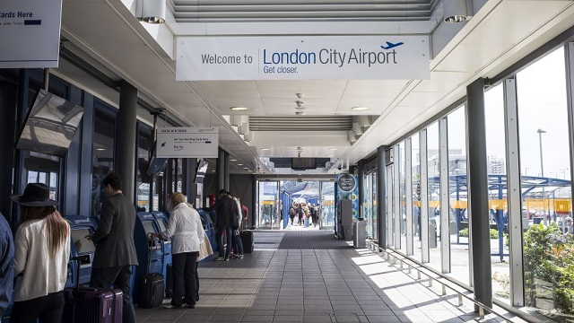 Online-Check-In LCY Airport