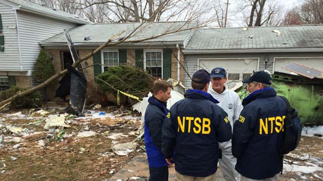 Foto: NTSB, Phenom 100 Crash in Gaithersburg