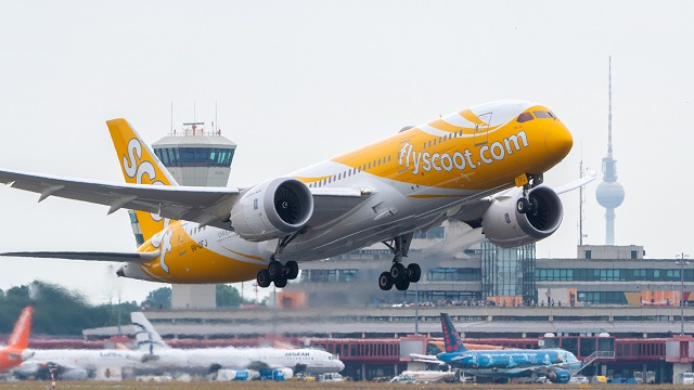 Scoot Boeing 787 Berlin Tegel
