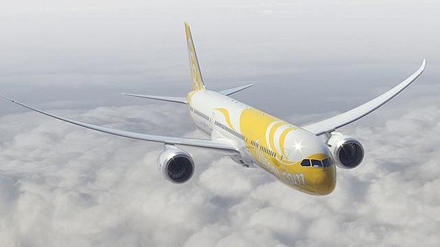 Scoot Boeing 787