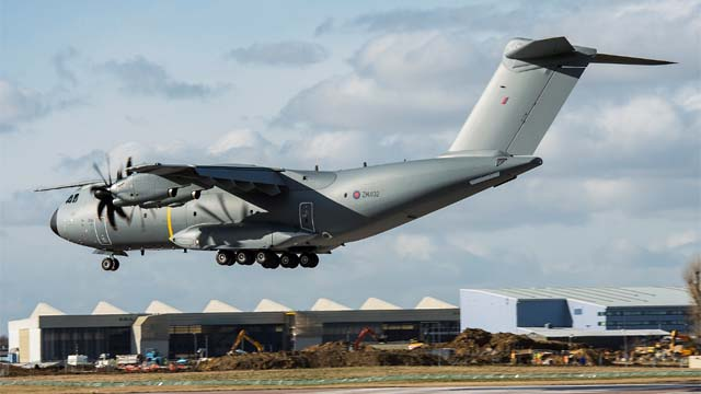Second A400M Royal Air Force